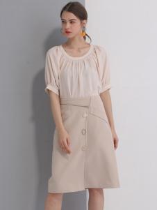 艾丽哲春夏新款半身裙