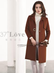 37°love女装2018新款大衣