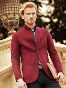 克拉格曼男装红色时尚夹克