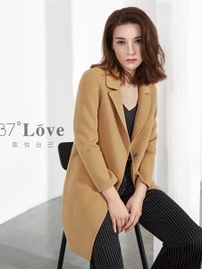 37°love女装18双面呢大衣