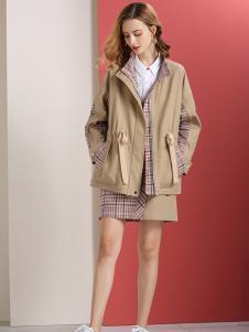 秋之恋品牌女装新款外套