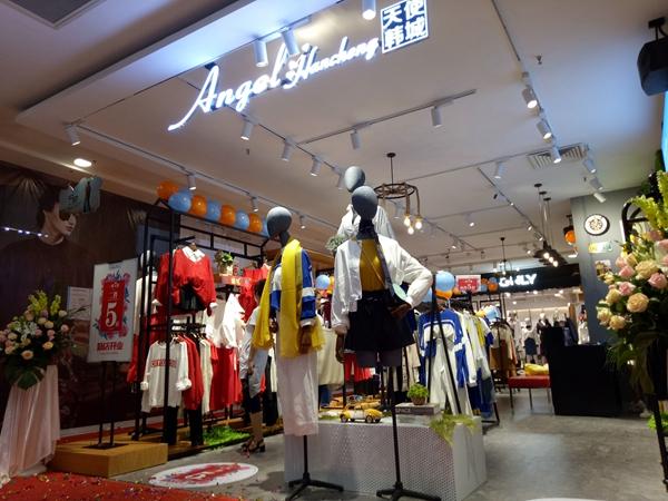 天使韩城店铺展示