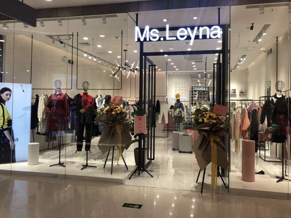 Ms.Leyna女装实体专柜品牌旗舰店店面