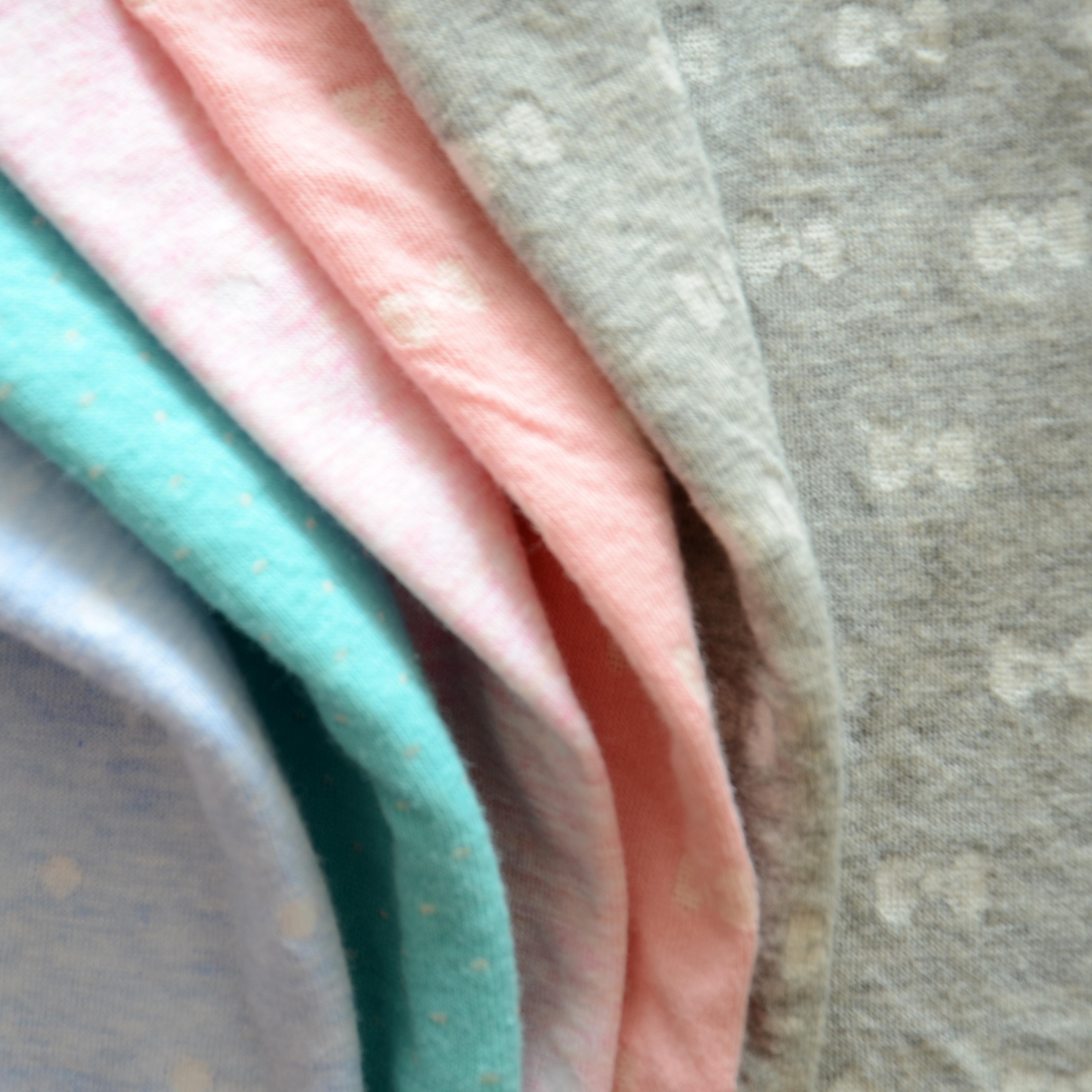 有机棉印花针织面料一手货源