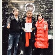 热烈祝贺恩咖男装云南蒙自加盟店盛大开业!
