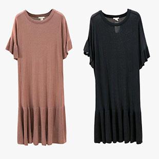 品牌折扣尾货女式连衣裙