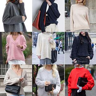 女式杂款尾货毛衣一手货源