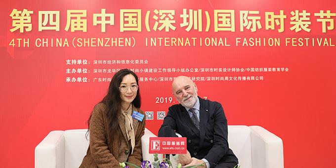2018深圳时装节:专访意大利皇室家庭设计师 斯蒂凡诺