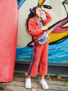玛玛米雅新款女童套装