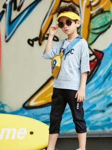 玛玛米雅新款男童T恤
