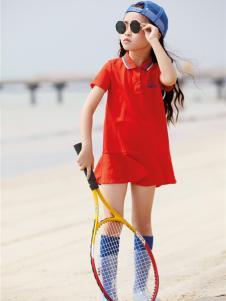 玛玛米雅新款女童连衣裙