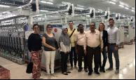 Eurovet和suPPort Ltd团队于2018年11月访问了印度尼西亚的内衣和纺织工厂