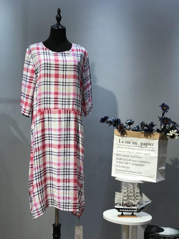 初禅依原创设计风格品牌女装夏季连衣裙一手货源批发