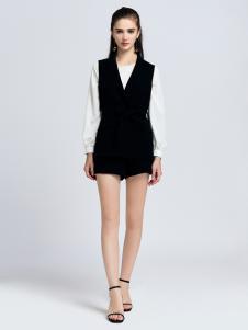 2019音非女装知性黑白两件套