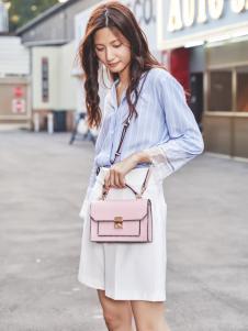 MUMGO木木果粉色时尚小包