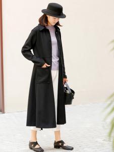 zolle因为女装品牌长款气质外套
