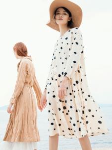 ZOLLE因為19棉麻連衣裙