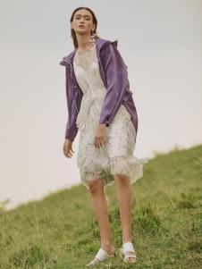 MYMO2019春夏新款紫色外套