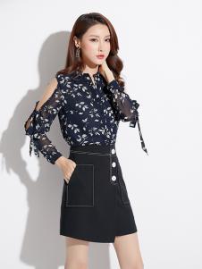 2019爱依莲女装雪纺衫
