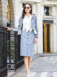 金蝶茜妮时尚知性优雅套装