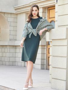 金蝶茜妮新款时尚优雅连衣裙