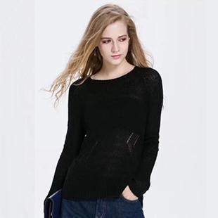 春季新款韩版马海毛针织衫