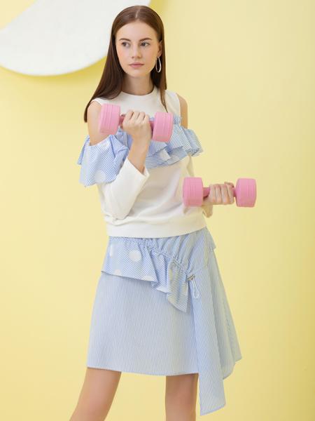2019Ms.Leyna女装时尚个性套装裙