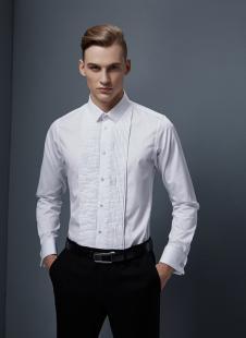 裁圣私服定制白色商务衬衫