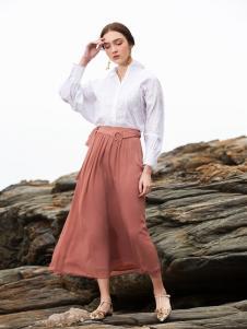 BLSS布伦圣丝新款修身半裙