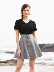 BLSS布伦圣丝春夏新款短裙