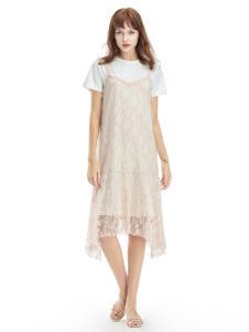 2019凡恩女装吊带裙两件套