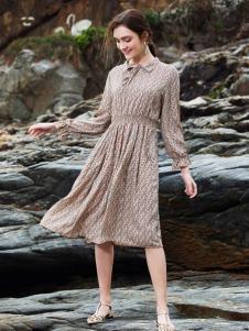 BLSS布伦圣丝淑女气质连衣裙