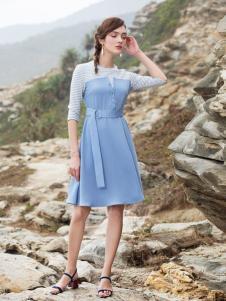 BLSS布伦圣丝新款小清新连衣裙