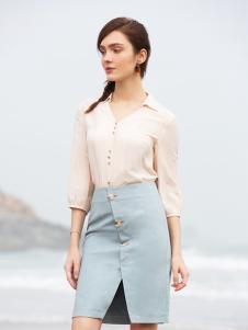 BLSS布伦圣丝春夏新款包臀裙