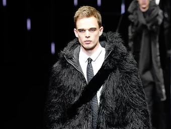 男装周:模棱两可的米兰优雅男士 阿玛尼表现非凡