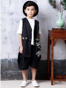 2019JOJO童装时尚黑白两件套