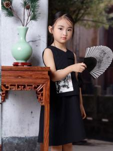2019JOJO女童可爱小黑裙