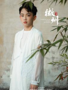 2019JOJO童装男童白色休闲衬衫
