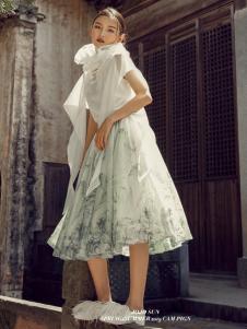 2019JOJO女童设计师范个性连衣裙