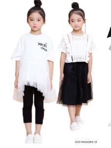 2019JOJO童装女童时尚套装裙