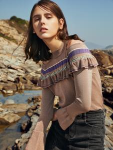 2019季候风春新款时尚针织毛衣