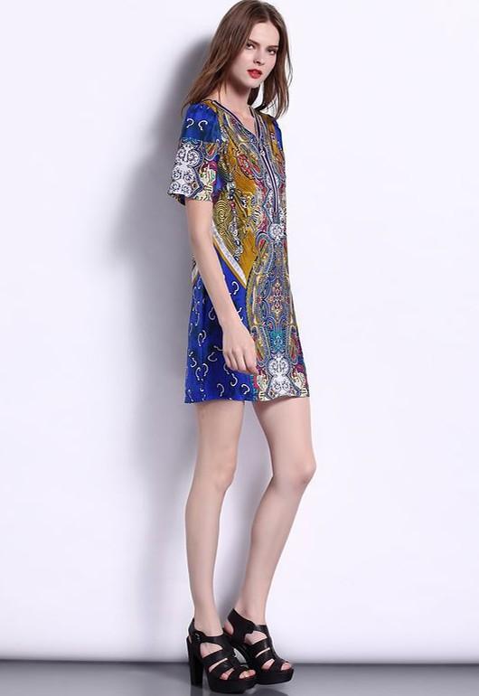 粉黛丽人品牌折扣女装连衣裙一手货源
