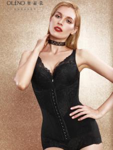 奥丽侬新款黑色瘦身美体衣