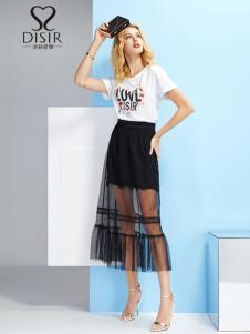 2019迪丝爱尔夏新款时尚半裙