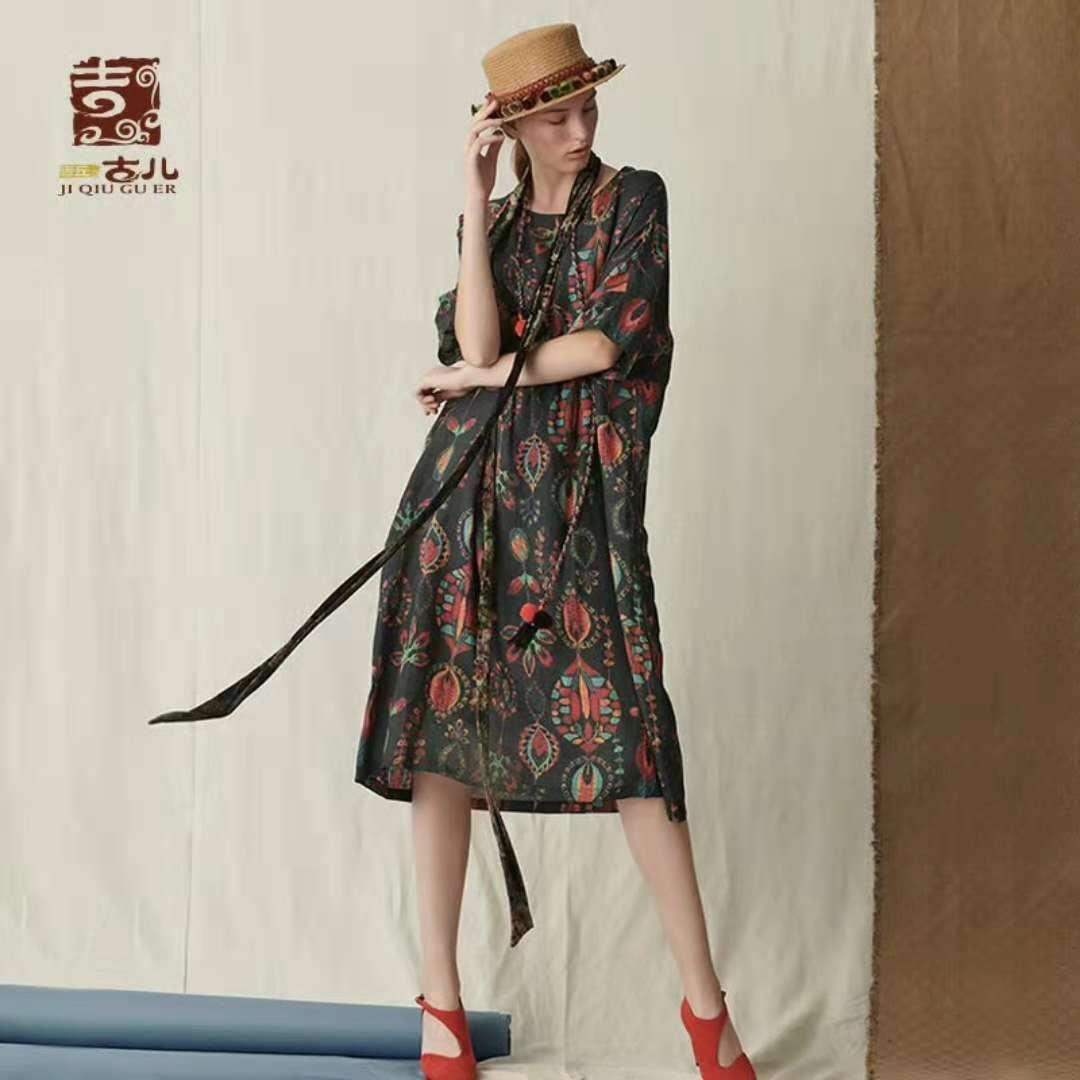 吉丘古儿女装折扣品牌一手货源批发直销
