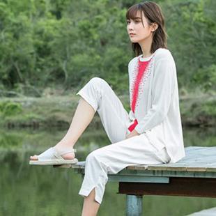 简约舒适、优雅时尚cols tate谷度亚麻女装全国招商!