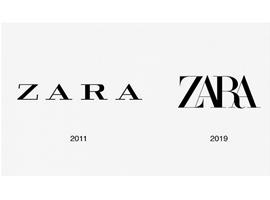 Zara 8年来首次更换logo,但网友的评价却不怎么样