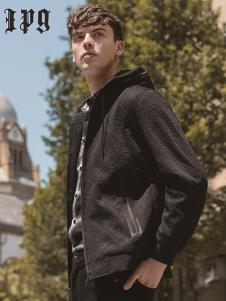 IPG男装黑色时尚夹克