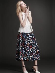 EAACPP女装碎花时尚半身裙