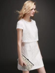 EAACPP女装白色时尚套装裙